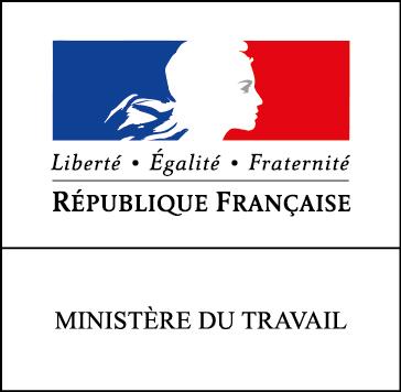 logo ministère du travail république française